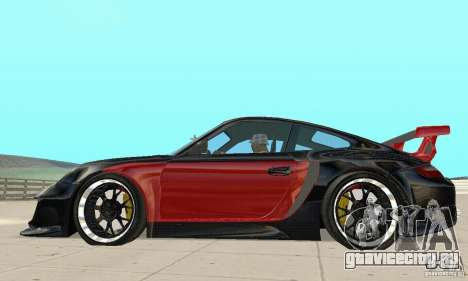 Porsche 911 GT2 NFS Undercover для GTA San Andreas вид сзади слева