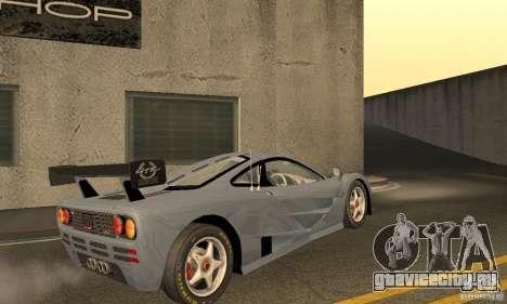 Mclaren F1 LM (v1.0.0) для GTA San Andreas вид справа