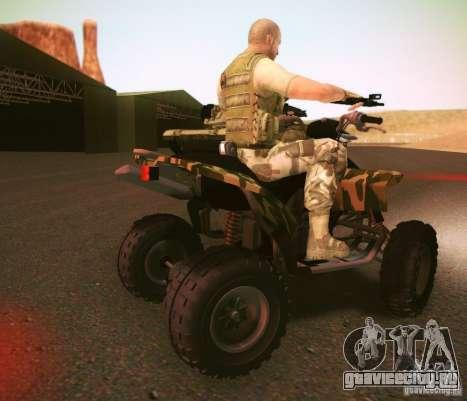 ATV 50 для GTA San Andreas вид сзади слева