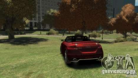 Audi TT RS Roadster для GTA 4 вид слева