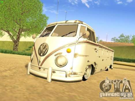 Volkswagen Type 2 Single Cab Rat для GTA San Andreas