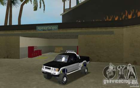 Toyota Hilux Surf для GTA Vice City