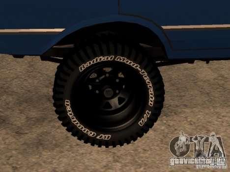 Москвич 412 - 4x4 для GTA San Andreas вид слева