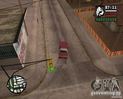 Камера как в игре GTA Chinatown Wars для GTA San Andreas пятый скриншот