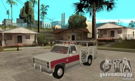 Chevrolet Silverado - utility для GTA San Andreas
