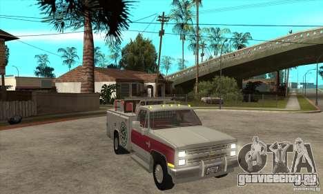 Chevrolet Silverado - utility для GTA San Andreas вид сзади