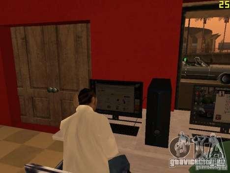 Ganton Cyber Cafe Mod v1.0 для GTA San Andreas пятый скриншот
