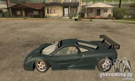 Mclaren F1 LM (v1.0.0) для GTA San Andreas вид слева