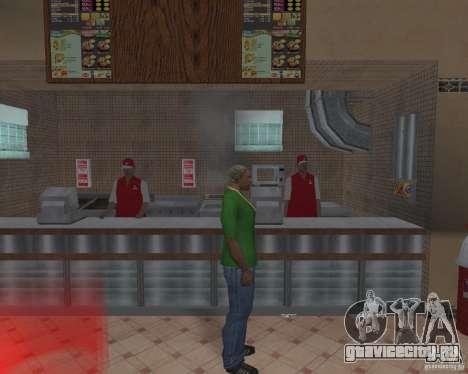 Новые текстуры закусочных и магазинов для GTA San Andreas восьмой скриншот