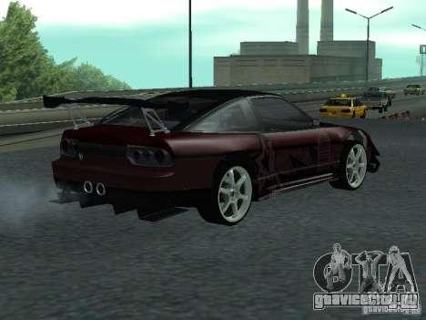 Nissan 240 SX для GTA San Andreas вид сзади слева