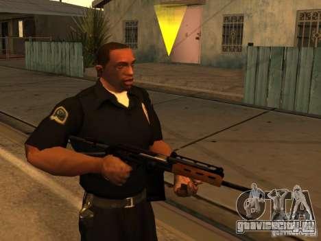 Пак Отечественного Оружия Модернизированный для GTA San Andreas четвёртый скриншот