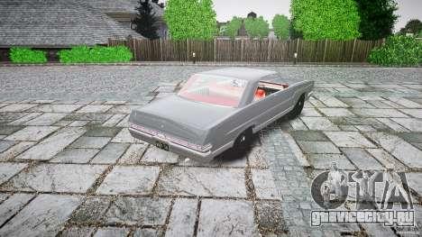 Ford Mercury Comet Caliente Sedan 1965 для GTA 4 вид сбоку