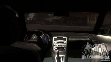 Acura NSX Stock для GTA San Andreas вид сбоку