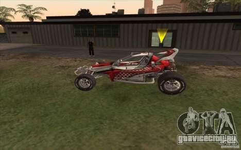 Bandito для GTA San Andreas вид слева