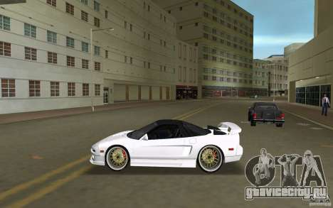 Honda NSX 1991 для GTA Vice City вид слева