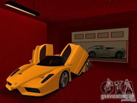 Новый Автосалон Ferrari в Сан Фиеро для GTA San Andreas одинадцатый скриншот