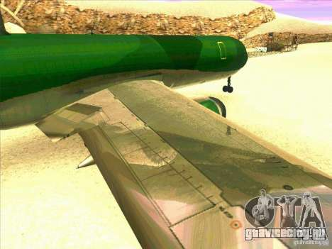 Boeing E-767 для GTA San Andreas вид сбоку