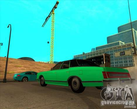 Ford LTD Landau 4 door 1975 для GTA San Andreas вид слева