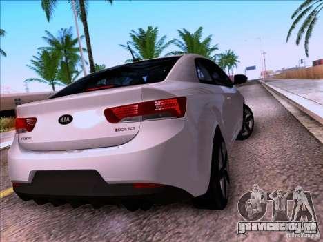 Kia Forte Koup SX для GTA San Andreas вид сбоку
