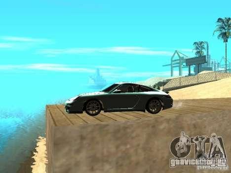 Porsche 997 GT3 RS для GTA San Andreas вид слева