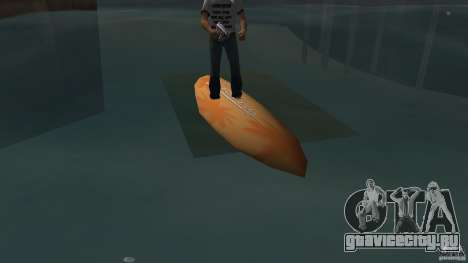 Surfboard 2 для GTA Vice City вид слева
