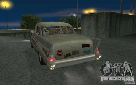 Chevrolet BelAir Bloodring Banger 1957 для GTA San Andreas вид справа