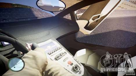 Lamborghini Aventador LP 700-4 для GTA 4 вид сверху