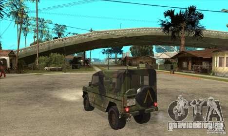 Mercedes Wolf для GTA San Andreas вид сзади слева