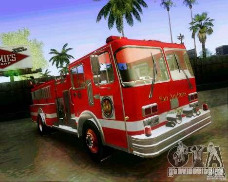Pumper Firetruck Los Angeles Fire Dept для GTA San Andreas