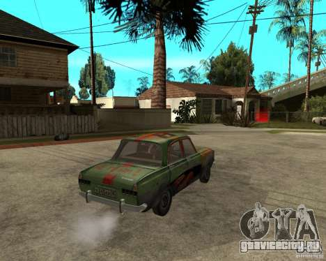 Москвич 412 bloodring для GTA San Andreas вид сзади слева