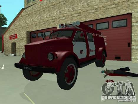 ГАЗ 51 АЦП 20 для GTA San Andreas вид слева