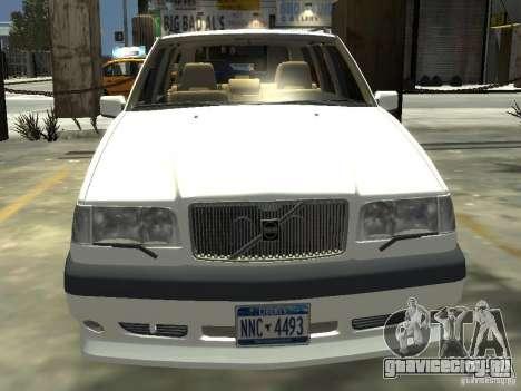 Volvo 850 R 1996 Rims 2 для GTA 4 вид сзади