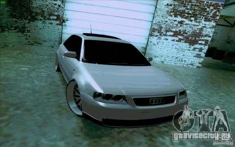 Audi A3 DUB Edition для GTA San Andreas вид сзади слева