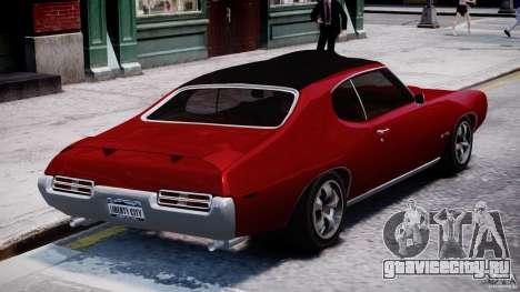 Pontiac GTO 1965 v1.1 для GTA 4 вид сбоку