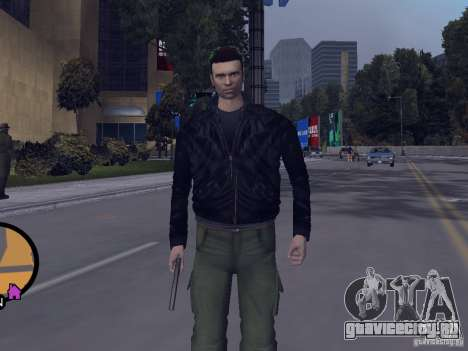 Claude HD from GTA III для GTA Vice City