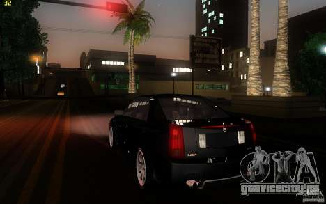 Cadillac CTS-V для GTA San Andreas вид справа
