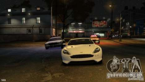 Aston Martin Virage 2012 v1.0 для GTA 4