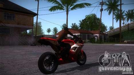 Ducati 1098 для GTA San Andreas вид справа