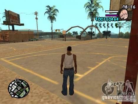 HUD by Hot Shot v2.1 для GTA San Andreas второй скриншот