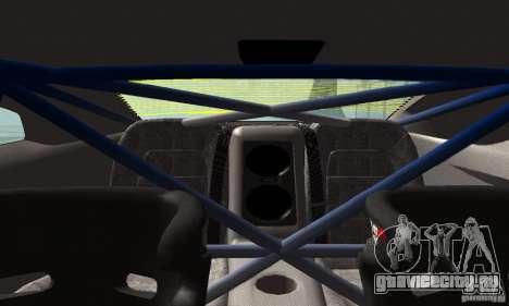 Nissan GTR R35 Tuneable для GTA San Andreas вид сбоку