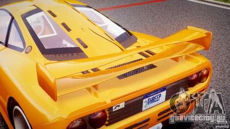 Mc Laren F1 LM v1.0 для GTA 4 салон