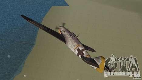 WW2 War Bomber для GTA Vice City вид изнутри