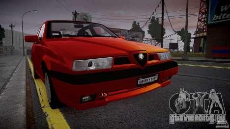 Alfa Romeo 155 Q4 1992 для GTA 4 вид слева
