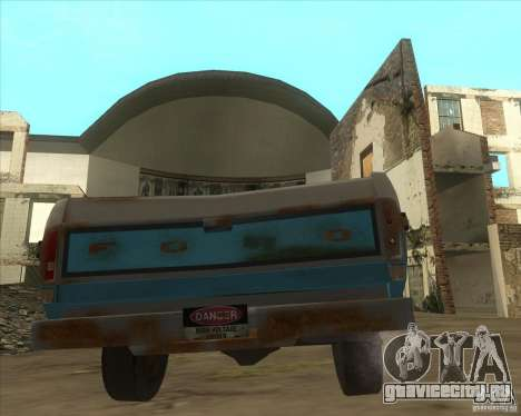 Ford F150 1978 old crate edition для GTA San Andreas вид сзади слева