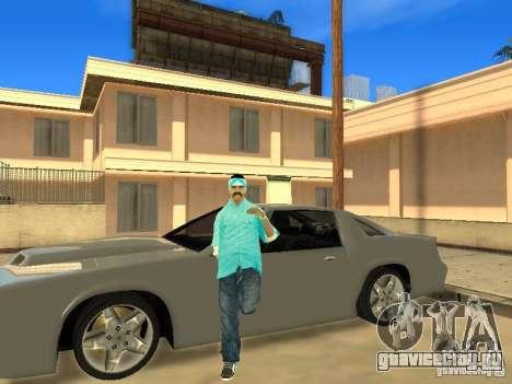 Skinpack Rifa Gang для GTA San Andreas второй скриншот