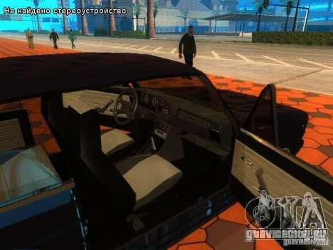ВАЗ 2107 для GTA San Andreas салон