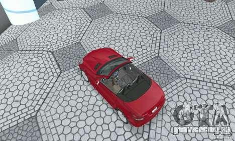 Mercedes-Benz SLK 350 для GTA San Andreas вид сзади слева