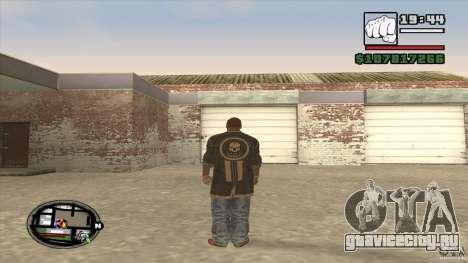 Sam B from Dead Island для GTA San Andreas четвёртый скриншот