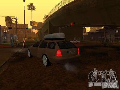 Skoda Octavia для GTA San Andreas двигатель
