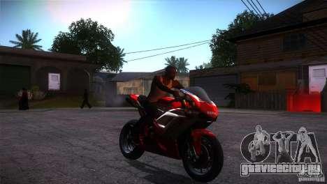 Ducati 1098 для GTA San Andreas вид сзади